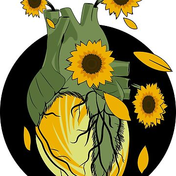 Sunflower Heart by DalyRincon