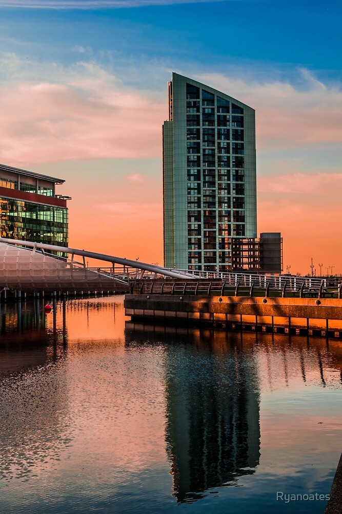 Sunset in Liverpool by Ryanoates