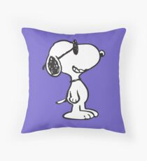 Cool Snoopy Throw Pillow