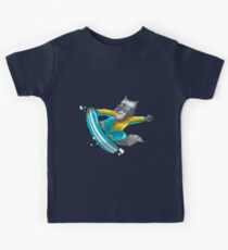 Snowboarding Wolf Kids Clothes