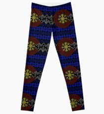 Sweater Pattern Colorado Flag Leggings