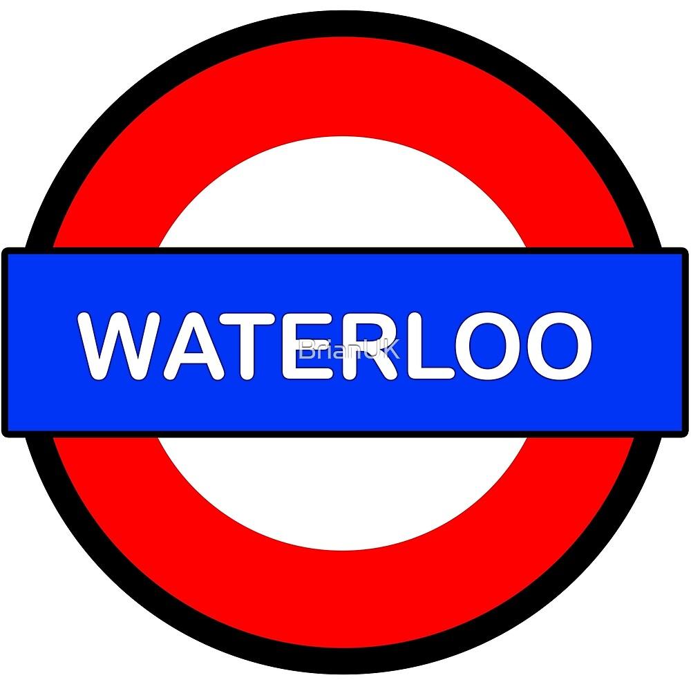 Waterloo Underground Station by BrianUK
