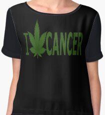 I Hate Cancer Chiffon Top