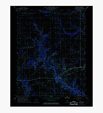 USGS TOPO Map Illinois IL Xenia NE 309130 1968 24000 Inverted Photographic Print