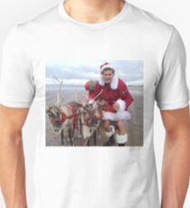 Christmas Hasselhoff Unisex T-Shirt