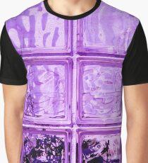 Purple window. Graphic T-Shirt