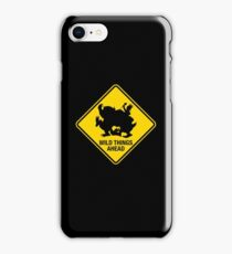 Wild Things Ahead iPhone Case/Skin