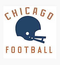 CHICAGO FOOTBALL Photographic Print