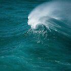 wave #3 by Barbara Burkhardt