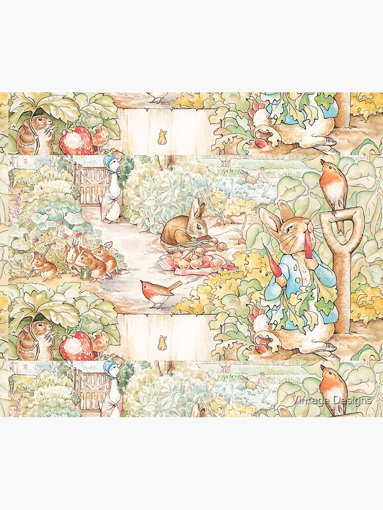 The World Of Beatrix Potter large vintage illustration by Geekimpact