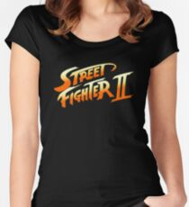 Street Fighter 2 Women's Fitted Scoop T-Shirt