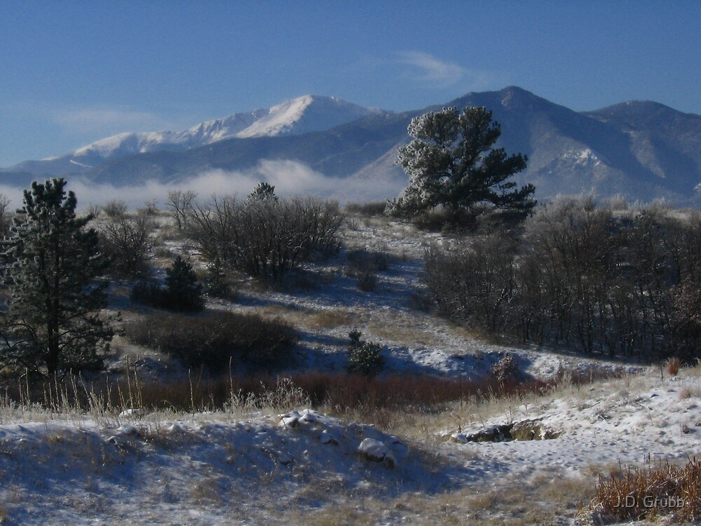 Pike's Peak, Winter Wonderland, Colorado Springs, CO 2007 by J.D. Grubb