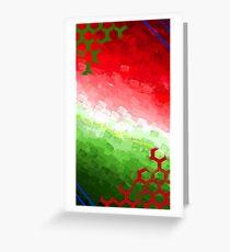 O Christmas Tree Color Print Greeting Card