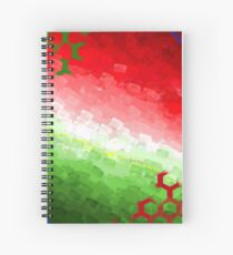 O Christmas Tree Color Print Spiral Notebook
