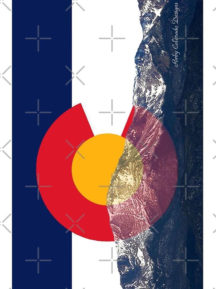 Bandera de Pikes Peak Colorado de emilycl88