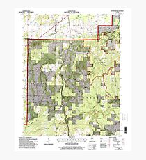 USGS TOPO Map Illinois IL Stonefort 308834 1996 24000 Photographic Print