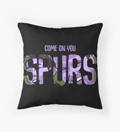 COYS pink and black Throw Pillow