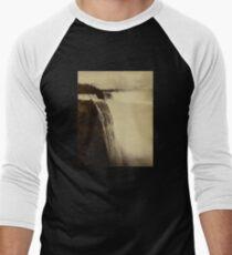 Niagara Falls around 1888 Photograph Men's Baseball ¾ T-Shirt