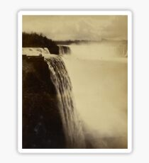 Niagara Falls around 1888 Photograph Sticker