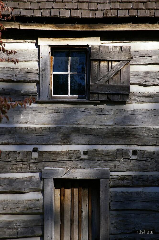 Cabin Window and Door by rdshaw