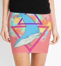 Minifalda Blue Whale and Triangles