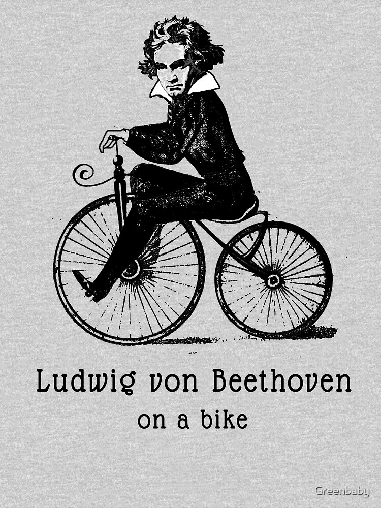Beethoven on a Bicycle by Greenbaby