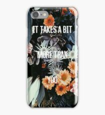 The 1975- You Real Floral iPhone Case/Skin