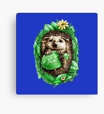 Furry critter Canvas Print
