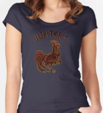 Best Collection Spartacus Jupiters Cock Best Trending Women's Fitted Scoop T-Shirt