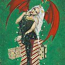 Naughty Or Nice Christmas Demon by Rebecca Sinz