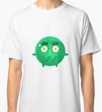 Confused Round Character Emoji Classic T-Shirt