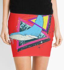 Minifalda Blue Whale and Triangles 2