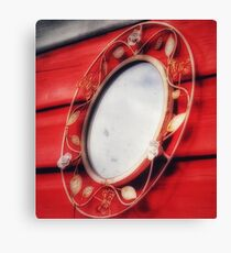 Mirror mirror on the wall who is the fairest of them all?  Canvas Print