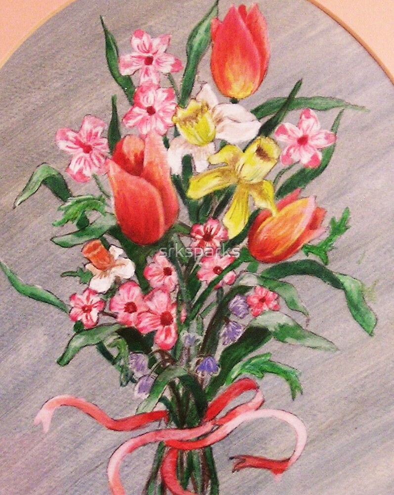 Spring Bouquet by Sandy Sparks
