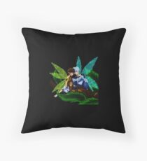 Hijack Faeries Throw Pillow
