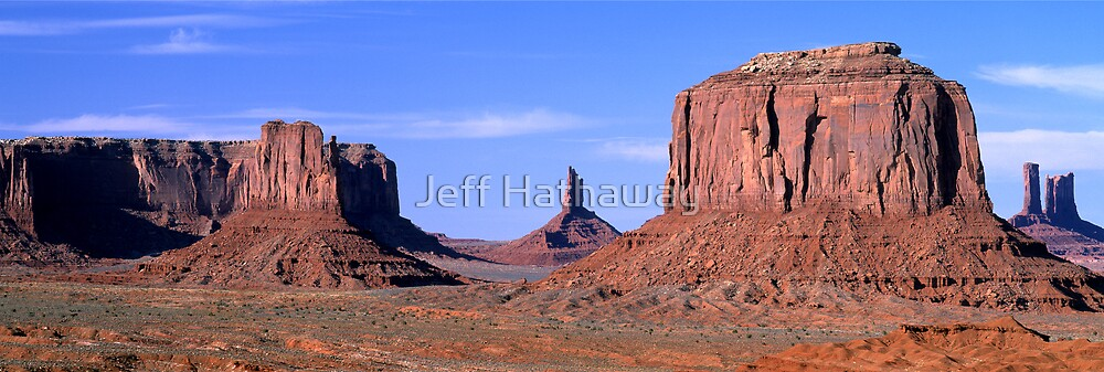 Monument Valley Arizona Panorama by Jeff Hathaway