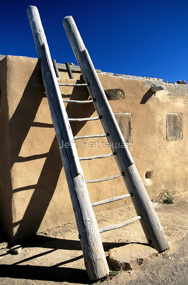 Pueblo Ladder by Jeff Hathaway