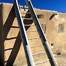 Pueblo Ladder by Jeff Hathaway