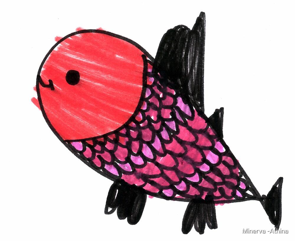 Mom Fish by Minerva -Athina