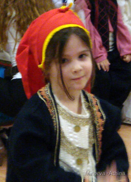 Athina With A Cretan Outfit by Minerva -Athina