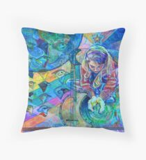Earth Love Throw Pillow