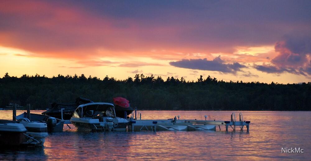 Sunset Lake by NickMc