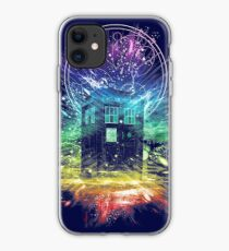 time storm-rainbow version iPhone Case