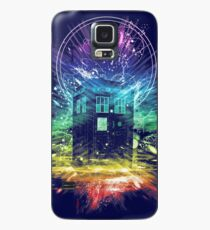time storm-rainbow version Case/Skin for Samsung Galaxy