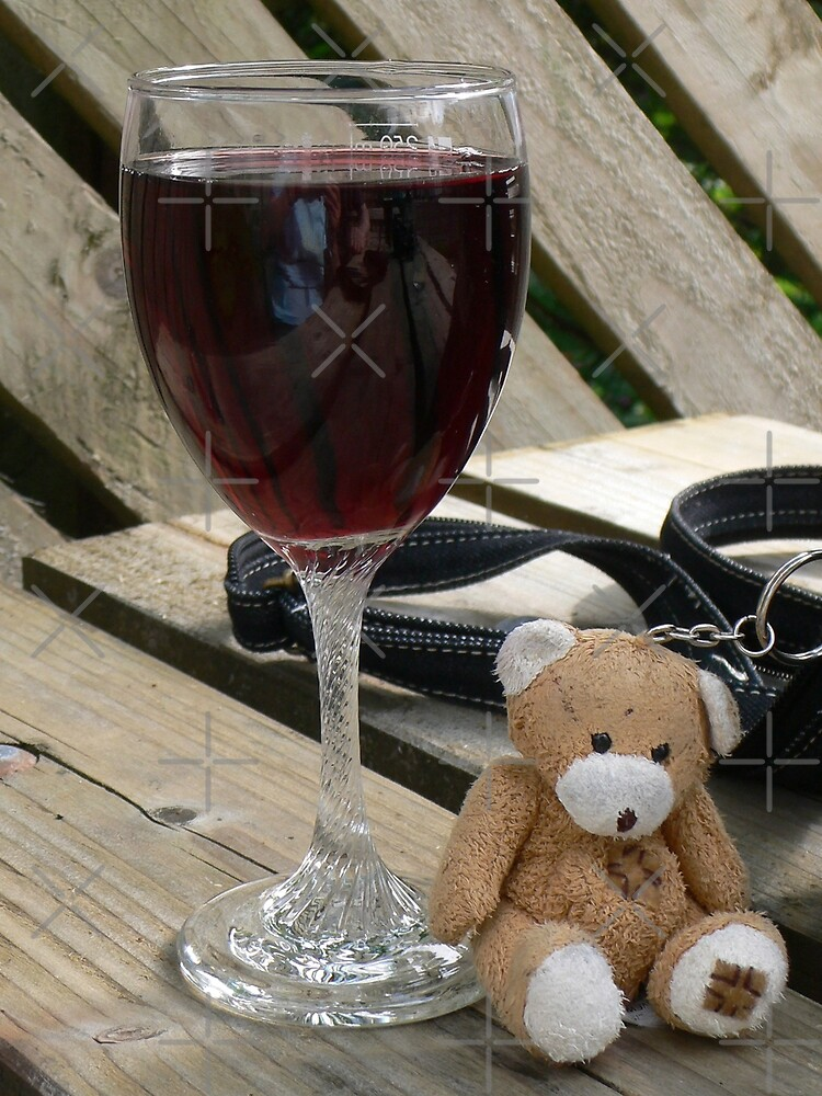 Little old wine teddy me by Tom Gomez