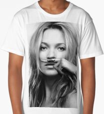 Kate Moss - Life is a joke fashion print Long T-Shirt