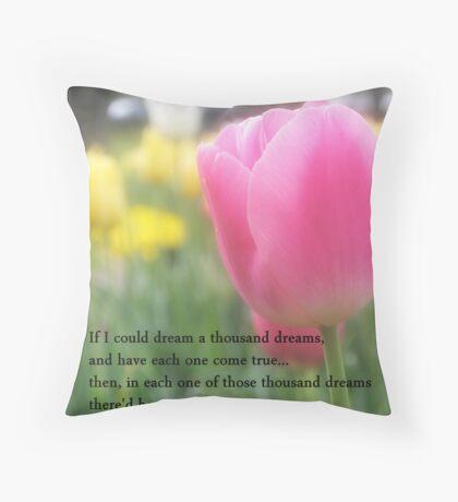 A Thousand Dreams Throw Pillow