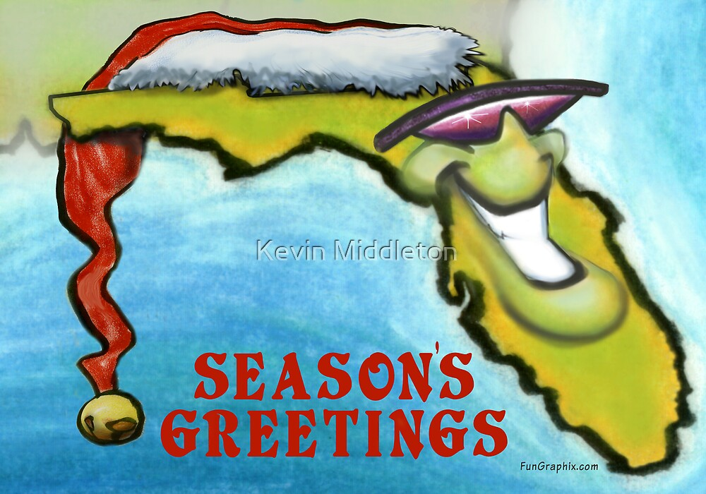 Florida Christmas by Kevin Middleton