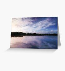 Mangawhai Bay, Tauranga, New Zealand Greeting Card