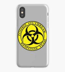 Zombie Outbreak Response Team - yellow iPhone Case